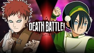 Gaara VS Toph | DEATH BATTLE!