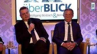 überBLICK - Wohin rollt der Ball? Zu Gast: Reinhard Grindel & Christoph Daum