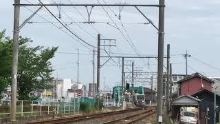 名鉄瀬戸線4000系 4004f(普通栄町行き)矢田〜大曽根間 通過‼️