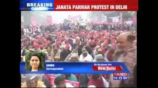 Janata Parivar Protest Against Narendra Modi Government