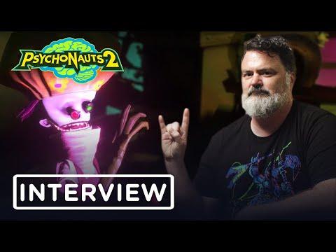 Tim Schafer Talks Psychonauts 2 & Reviews 5 Famous Psychics - IGN Access