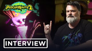 Tim Schafer Talks Psychonauts 2 & Reviews 5 Famous Psychics - IGN Access
