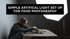 How to Use Artificial Light in Food Photography (Using just ONE Light Source)