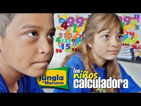 Los niños calculadora