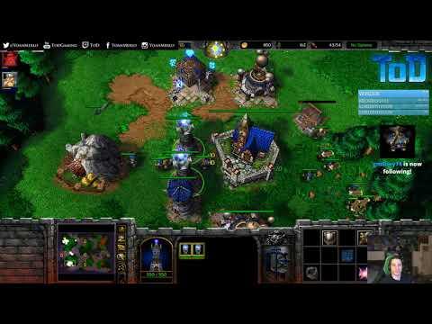 Warcraft III #720 PTR - Zeus[19] Human vs NightElf (Echo Isles)
