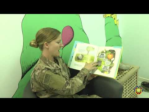 How One Deployed Soldier In Kuwait Uses The Bob Hope Legacy Reading Program To Connect With Her Kids