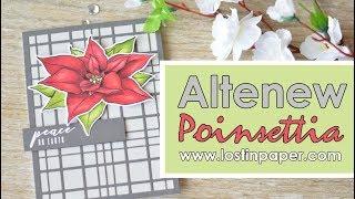Altenew Build-A-Flower: Poinsettia Release!