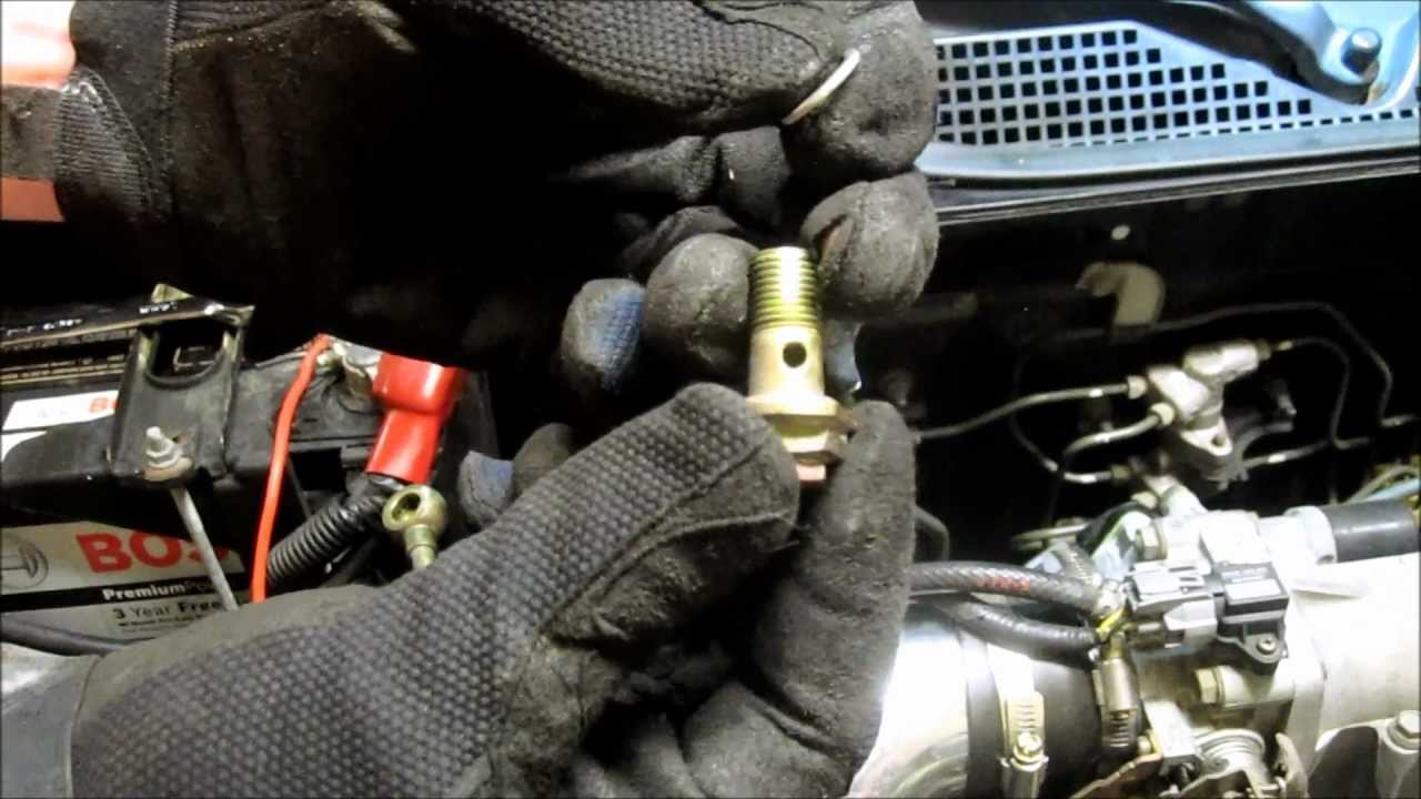 Fuel Filter Replacement Honda Civic - YouTube