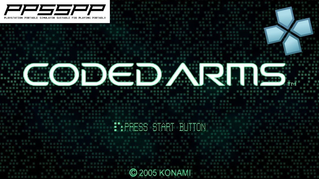 Coded Arms - PSP Gameplay (PPSSPP) 1080p 60fps