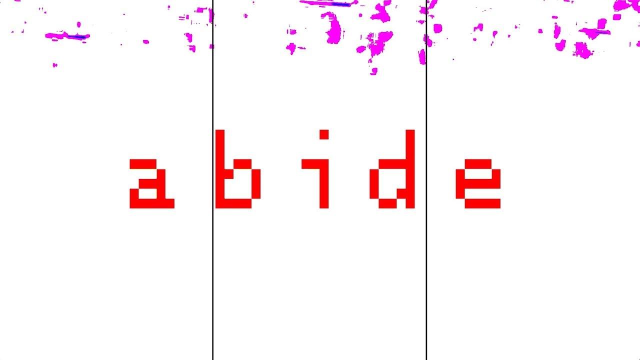 Abide (feat. Brock Human)