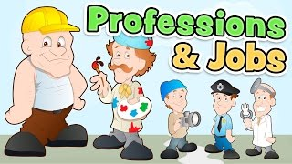 Professions and jobs in ENGLISH for kids