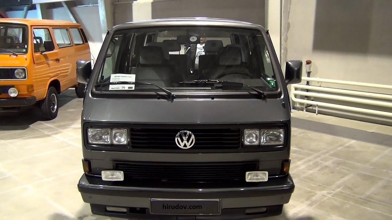 volkswagen transporter t3 caravelle carat 1989 exterior and interior in 3d 4k uhd youtube. Black Bedroom Furniture Sets. Home Design Ideas