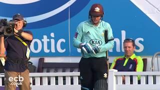 Big hitting from Jason Roy! - Highlights of T20 Blast Quarter-Final v  Birmingham Bears