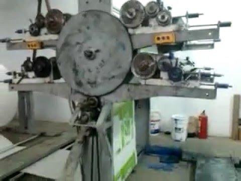 fc2984f34 Maquina para fabricar bolsas de cemento - YouTube