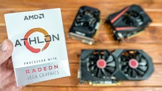 Top 3 Graphics Cards for Athlon 200GE Benchmarked!