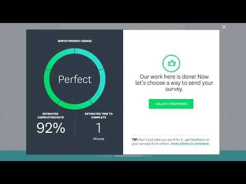 SurveyMonkey - Creating, Testing, and Sending a Survey