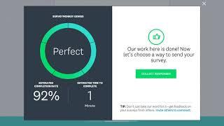SurveyMonkey - إنشاء واختبار إرسال المسح