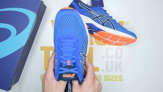 ASICS GT-1000 6 - Blue Orange - Unboxing | Walktall