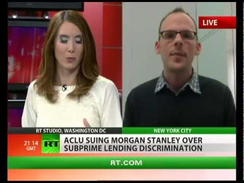 Morgan Stanley accused of racism