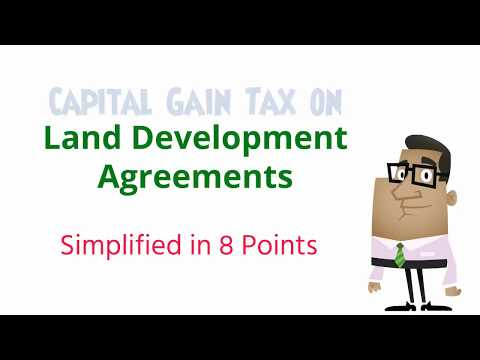 Capital Gains on account of Land Development agreement