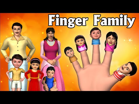 Daddy Finger | Finger Family Song | 3D Animation Finger Family Nursery Rhymes & Songs for Children