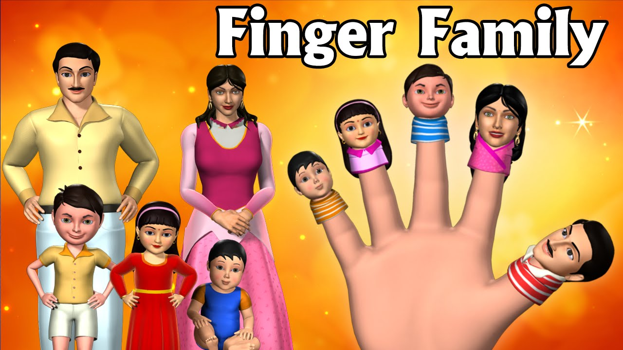 Finger family collection 7 finger family songs - Daddy Finger Finger Family Song 3d Animation Finger Family Nursery Rhymes Songs For Children Youtube