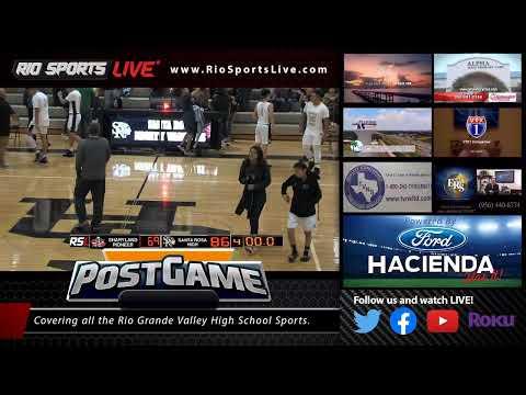 Pioneer Vs Santa Rosa Boys Basketball 12 3 2019