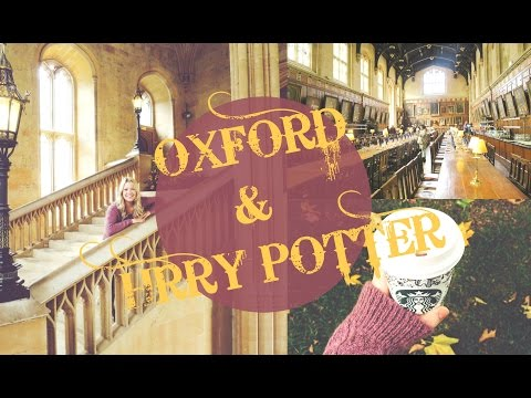 OXFORD & HARRY POTTER LOCATIONS!