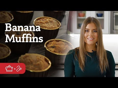 Pesach Breakfast Banana Muffins