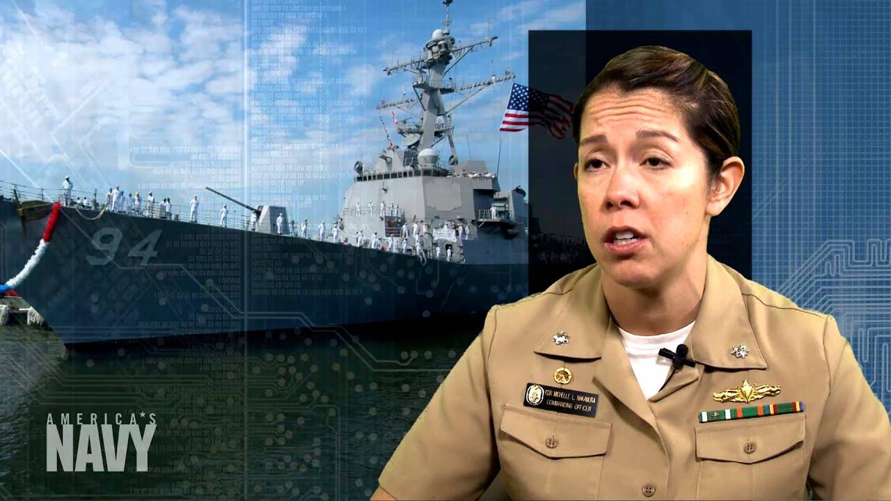 female leadership  u2013 cdr michelle nakamura  surface warfare
