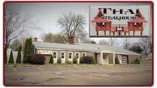 ABANDONED Thai Steakhouse Restaurant - Louisville Ohio
