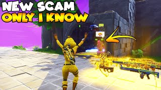 New Scam 0% Know is Game Changing! 💯😱 (Scammer Gets Scammed) Fortnite Save The World