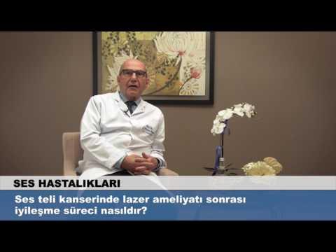 Ses teli kanserinde lazer ameliyatı sonrası iyileşme süreci nasıldır?