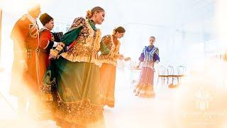 Русские народные артисты на интернациональной свадьбе в русском стиле! © Простые Радости