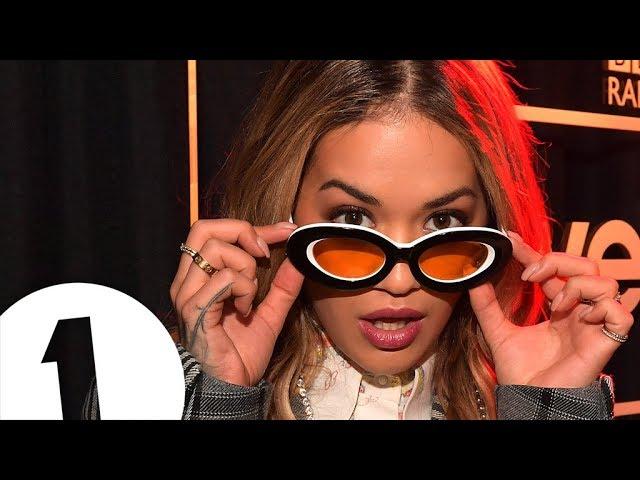 Rita Ora - Like A Virgin (Madonna cover) in the Live Lounge