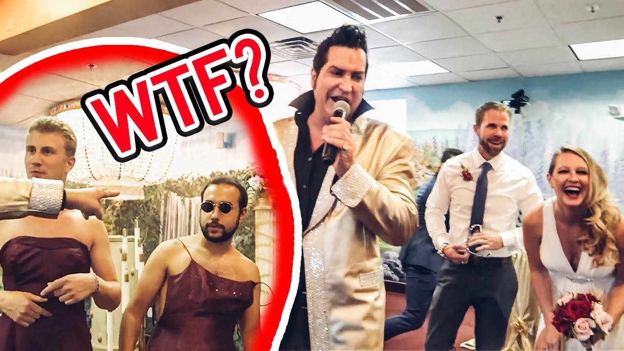 Download ASKING STRANGERS TO CRASH THEIR WEDDING (Epic Vegas Party)