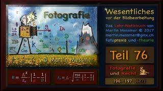 196 – 197 (627) Fotografie und Recht §