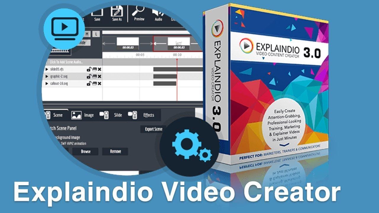 Download và cài đặt Explaindio Video Creator-Phần mềm biên tập videos Marketing hiệu quả