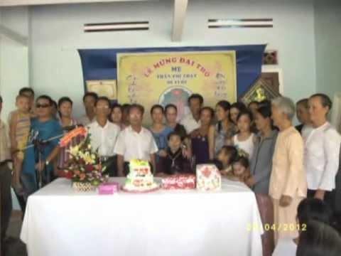 Lễ mừng đại thọ cụ bà TRẦN THỊ THẠT 90 tuổi