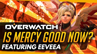 Overwatch | Is Mercy Good Now? - Opinions Of #1 World Mercy (ft EeveeA)