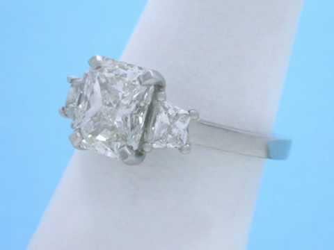 Stone Radiant Cut Diamond Ring
