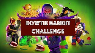 Lego DC Super Villains - Bowtie Bandit Challenge - All Bowtie Statue Locations