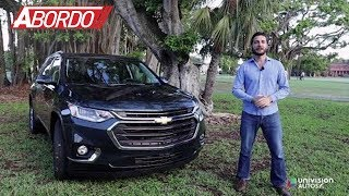Chevrolet Traverse 2018 - Prueba A Bordo