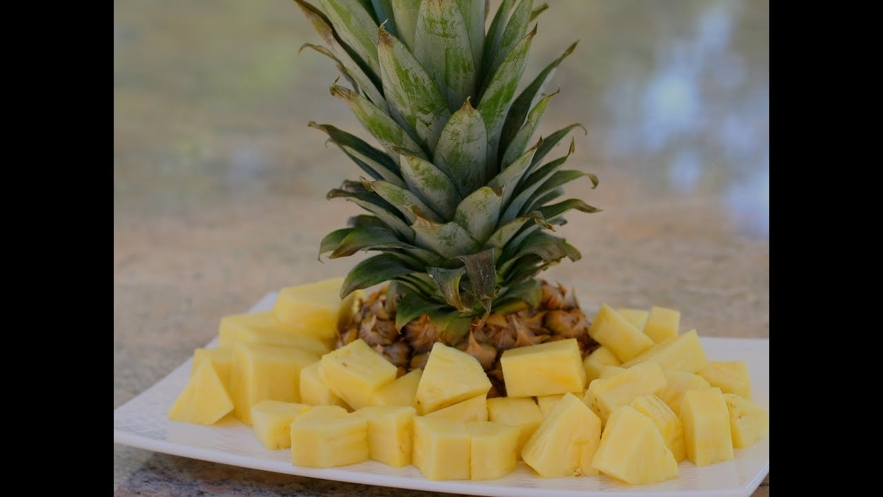How To Cut Up A Pineapple Do You Know What Part Is The