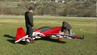 Extra 300 LX with 4-Cylinder Engine -- Large Scale Aerobatic Airplane