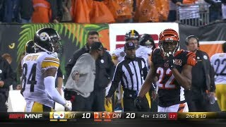 Antonio Brown vs William Jackson III (2017 wk 13) | WR vs CB Matchup