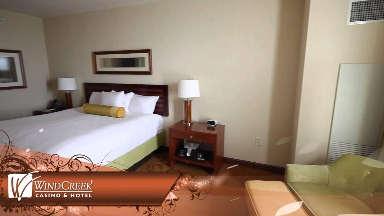 Wind Creek Casino Deluxe King Room Youtube