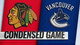 Chicago Blackhawks vs Vancouver Canucks – Oct.31, 2018 | Game Highlights | NHL 18/19 | Обзор матча