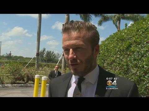 Beckham Tells Miami Mayor That New Stadium Can Be 'World-Class'