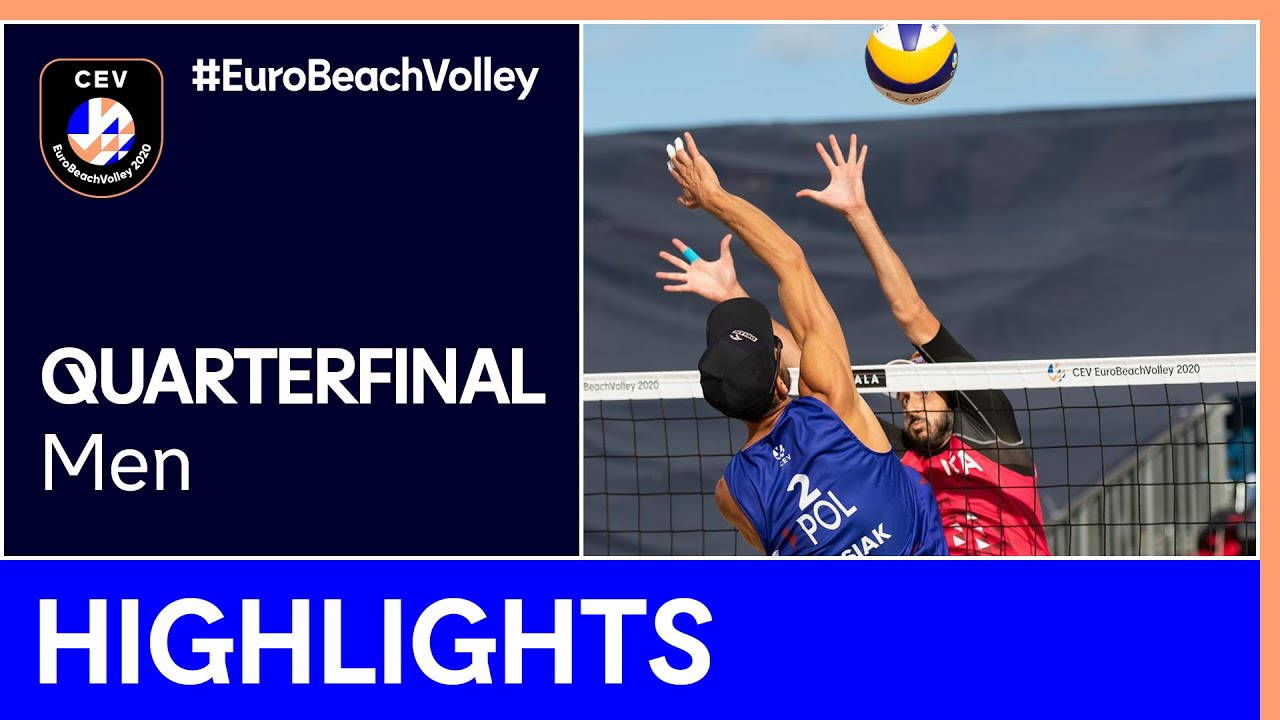 Kantor/Losiak vs Nicolai/Lupo Quarter-Finals Highlights - EuroBeachVolley 2020 Men
